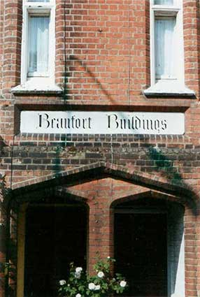 Ipswich Historic Lettering: Beaufort Buildings