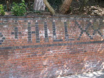 Ipswich Historic Lettering: Bishop's Hill 3