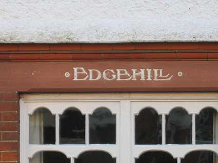 Ipswich Historic Lettering: Broom Hill Rd 14