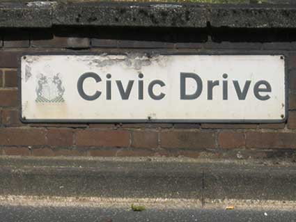 Ipswich Historic Lettering: Civic Drive 5