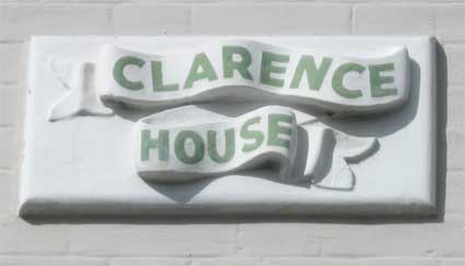 Ipswich Historic Lettering: Clarence House 2