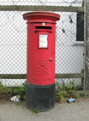 Ipswich Historic Lettering: Cliff Rd Pillar box 2