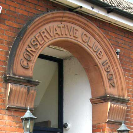 Ipswich Historic Lettering: Newton Road Conservative Club 3