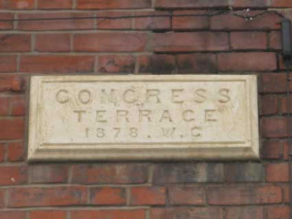 Ipswich Historic Lettering: Congress Terrace 2