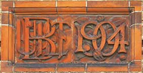 Ipswich Historic Lettering: Co-op built 1904 thumb