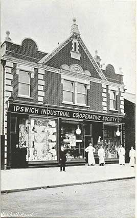 Ipswich Historic Lettering: Fohall Rd Coop 1906