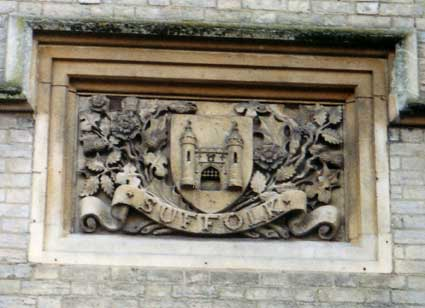 Ipswich Historic Lettering: County Hall 2