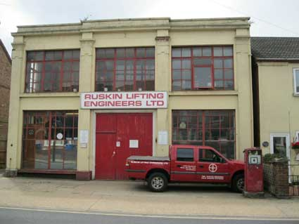 Ipswich Historic Lettering: Foxhall petrol 3