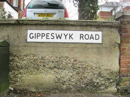 Ipswich Historic Lettering: Gippeswyk Park 12