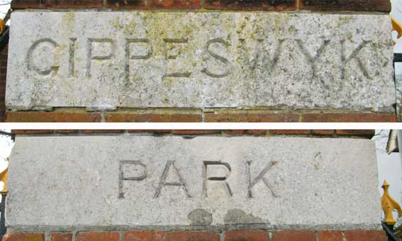 Ipswich Historic Lettering: Gippeswyk 3