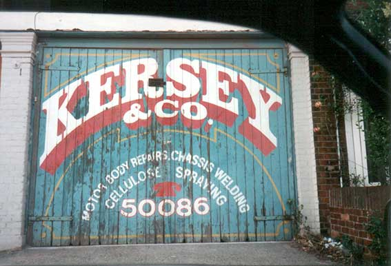 Ipswich Historic Lettering: Kersey & Co. 5a