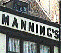 Ipswich Historic Lettering: Mannings icon