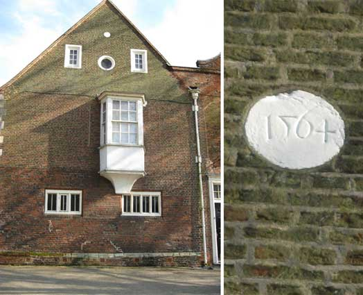 Ipswich Historic Lettering: Christchurch Mansion 1564