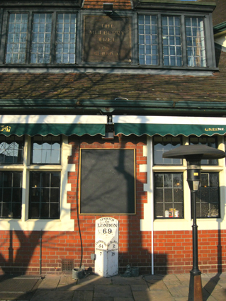 Ipswich Historic Lettering: Mulberry Tree 3