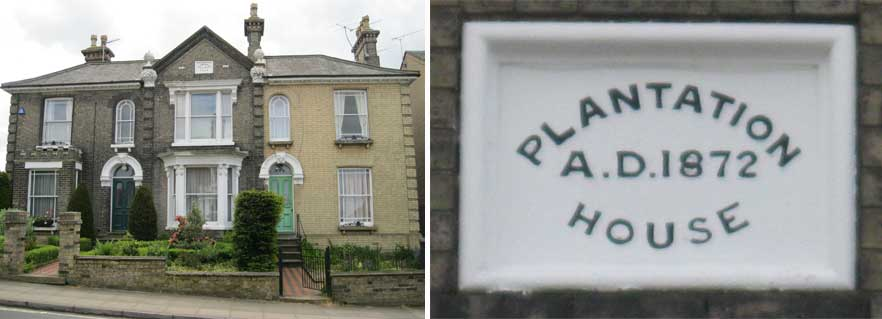 Ipswich Historic Lettering: Plantation House 1