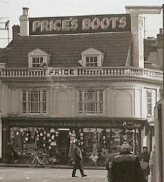 Ipswich Historic Lettering: Price Boots