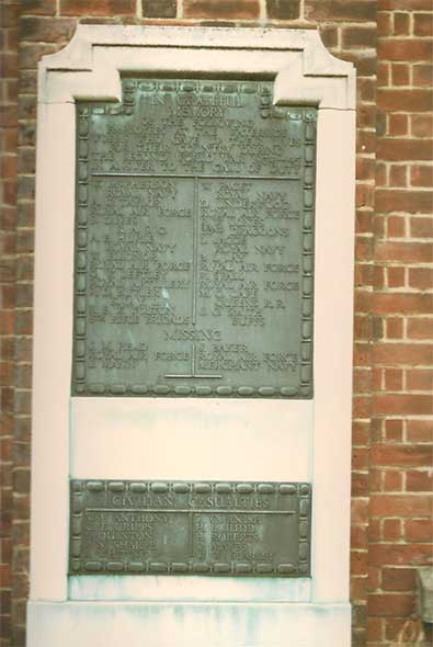 Ipswich Historic Lettering: Ransomes memorial 3