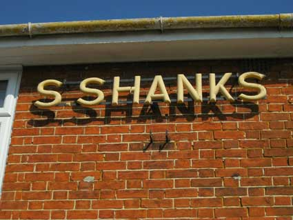 Ipswich Historic Lettering: S. Shanks 2