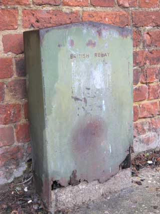 Ipswich Historic Lettering: British Relay box 3