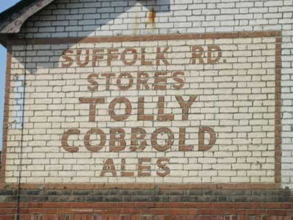 Ipswich Historic Lettering: Suffolk Rd Stores 1