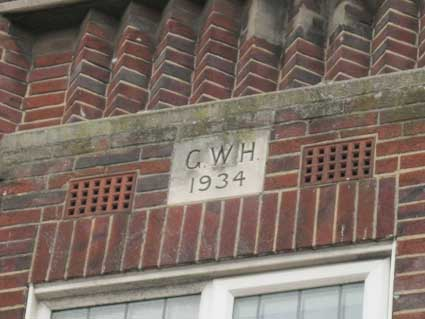 Ipswich Historic Lettering: Tacket Street 1