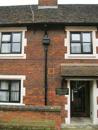 Ipswich Historic Lettering: Tooleys almshouses 23