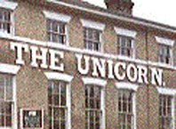 Ipswich Historic Lettering: Unicorn icon