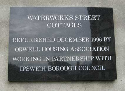 Ipswich Historic Lettering: Water Works 2