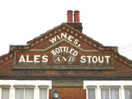 Ipswich Historic Lettering, Wines Bottled 2...