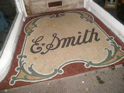Ipswich Historic Lettering: Woodbridge E. Smith 1