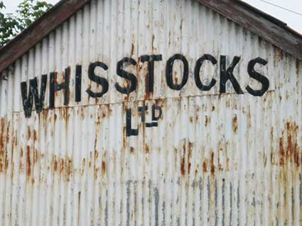 Ipswich Historic Lettering: Woodbridge Whisstocks 2